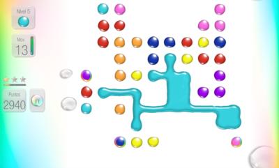LikWit, el juego de puzzles que nos reta a combinar gotas de colores