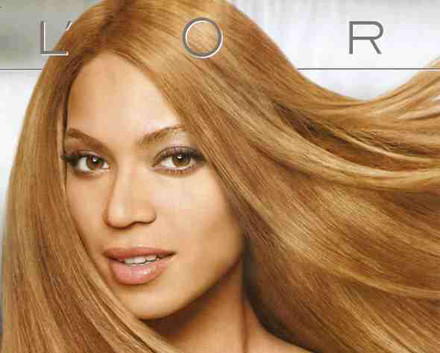 Beyoncé, su palidez y L'Oréal