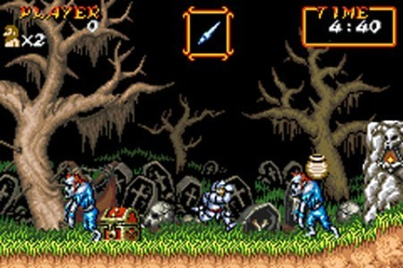 Super Ghouls 'n Ghosts en la Consola Virtual
