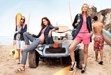Soñando con la playa en la campaña Tommy Hilfiger Primavera-Verano 2014