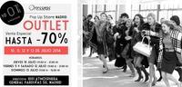 Outlet de Dresseos con hasta un 70 % de descuento: 10, 11, 12 y 13 de julio