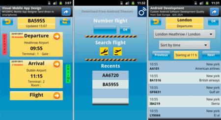 iVuelos para controlar los horarios de los vuelos