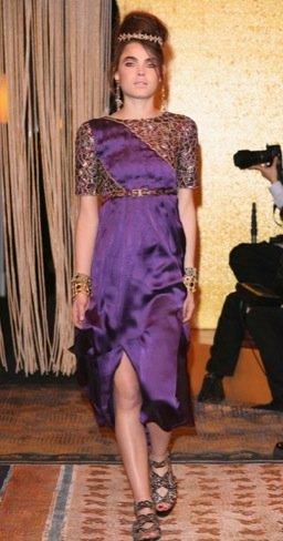 Chanel Pre-Fall 2011. Malva