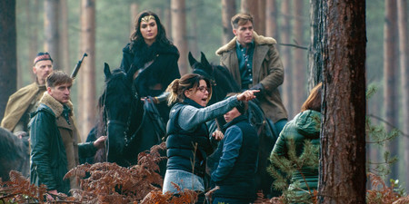 Jenkins en el rodaje de Wonder Woman
