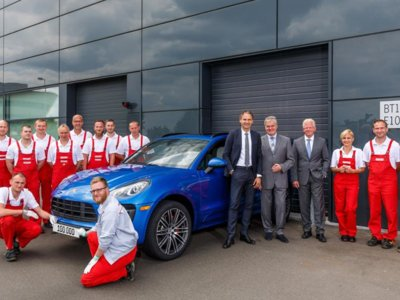 Porsche Macan, las 100.000 unidades fabricadas en Leipzig corroboran su éxito