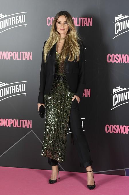 premios cosmopolitan 2017 alfombra roja look estilismo outfit Modelo Aida Artiels