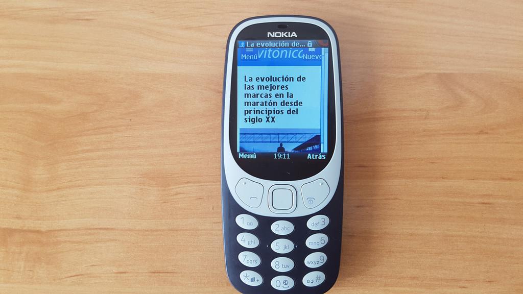 Twitter dos Nokia 3310