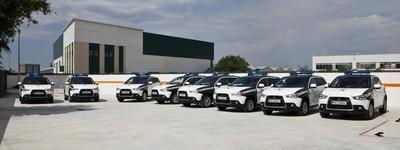 Mitsubishi ASX, a las órdenes de la Guardia Civil