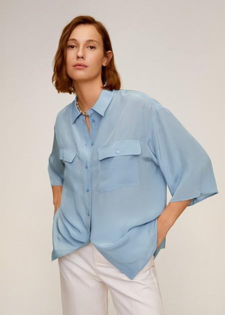 Camisa Fluida Bolsillos