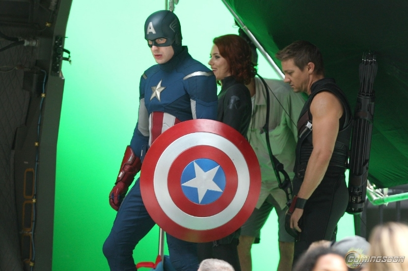 Foto de 'Los Vengadores', nuevas fotos del rodaje (1/27)