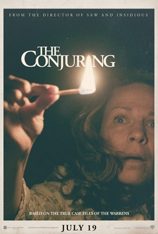 Imagen con el cartel de 'The Conjuring'