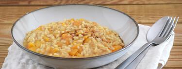 Risotto de calabaza y vinagre balsámico: receta reconfortante para aprovechar la cremosidad de la hortaliza del otoño