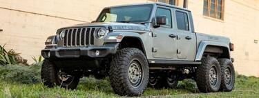 Jeep Gladiator 6x6 por Next Level, una modificación más que se sube a la tendencia de las seis llantas