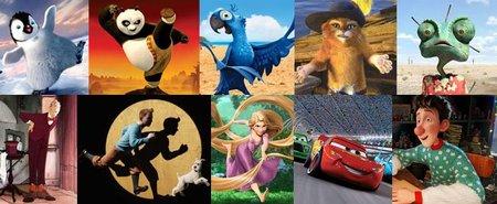 La mejor película de animación de 2011 según los lectores de Blogdecine