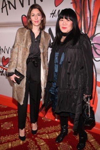 Sofia Coppola, fiesta HM