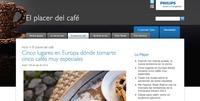 Mi mundo Phillips, el nuevo proyecto de empresa de Weblogs SL para los más cafeteros