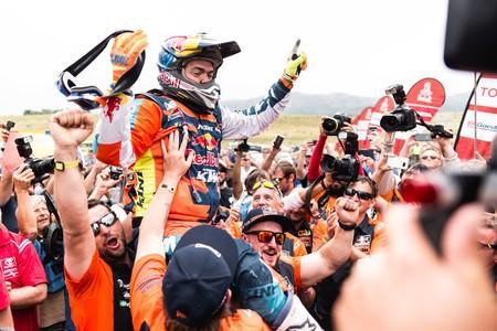 Matthias Walkner Dakar2018