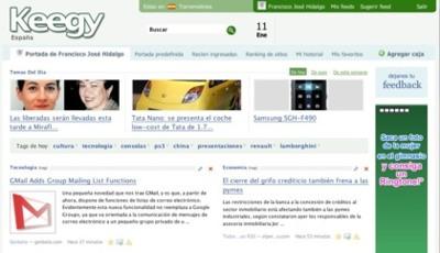 Keegy 2.0, la nueva versión de Keegy