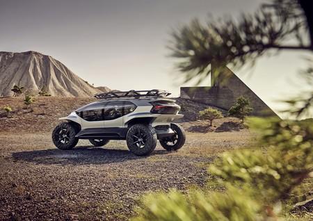 Audi AI:TRAIL Quattro, la firma apuesta por SUV eléctricos, autónomos y con IA