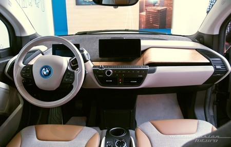 BMW i3 Madrid interior 21
