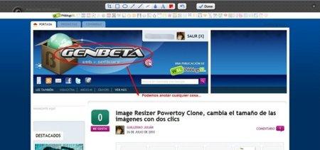 Awesome Screenshot, captura y anota páginas web en Chrome