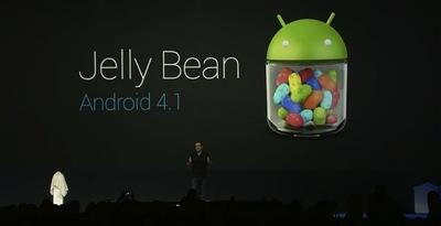 Android 4.1 Jelly Bean, la nueva versión para androides