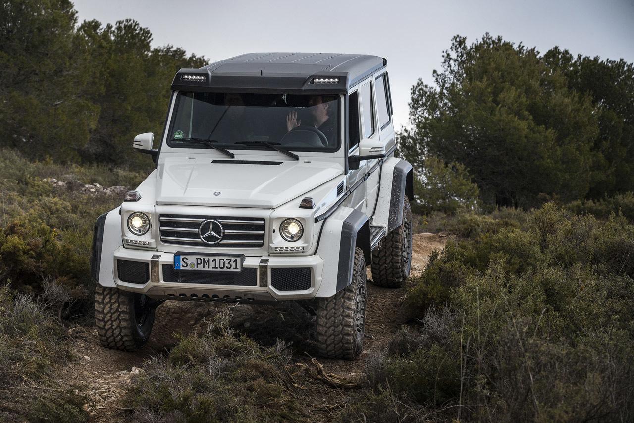 Foto de Mercedes-Benz G 500 4x4², toma de contacto (110/127)