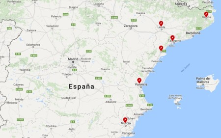 Tesla Supercharger Espana