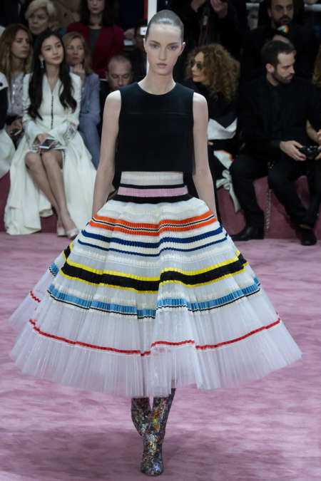 Liza Ostanina Dior Haute Couture Spring 2015