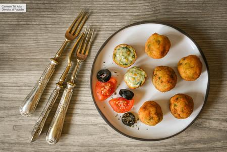 Croquetas (hiper) cremosas de espinacas, queso azul y nueces, receta para triunfar