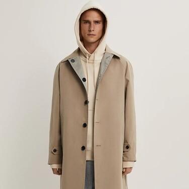 La gabardina reversible de Zara que te permite tener dos looks por uno este invierno