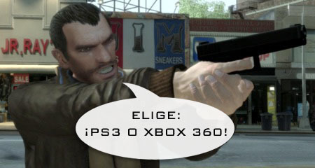 'GTA IV': Vídeo comparativo en Xbox 360 y PlayStation 3