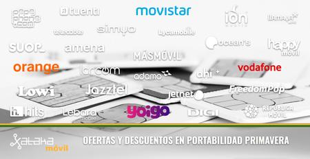Ofertas y descuentos con Movistar, Vodafone, Orange y Yoigo en abril de 2018