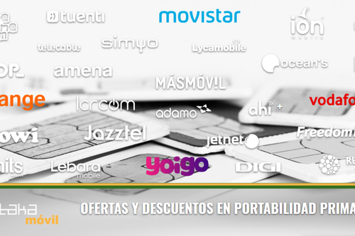 Ofertas y descuentos con Movistar, Vodafone, Orange y Yoigo en abril de 2018