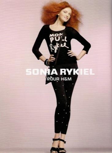 Colección exclusiva de Sonia Rykiel para HM, Primavera-Verano 2010. Leggings