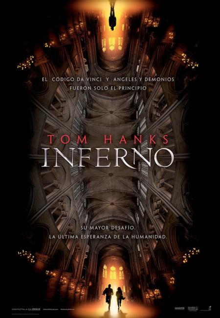 Cartel de Inferno en español
