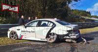 """En Nürburgring hay un BMW M5 """"Ring Taxi"""" menos en servicio"""