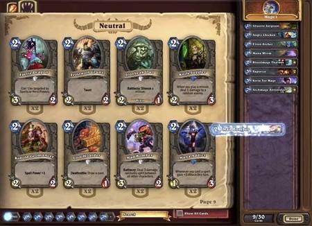 Blizzard se suma a la moda de Magic en versión digital con un juego gratuito