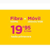 Black Friday en Jazztel: Fibra + Móvil por sólo 19,95 euros y un Galaxy S9 por 5 euros/mes