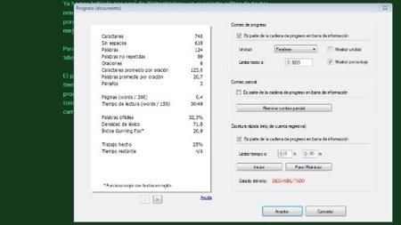 WriteMonkey: el editor de texto minimalista ahora con mejores estadísticas