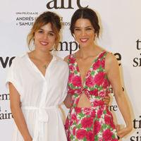 ¿Juana Acosta o Adriana Ugarte? Dos estilos muy diferentes que comparten photocall