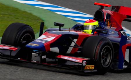 Sergio Canamasas Test GP2 Jerez