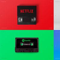 """El disquete, VHS y el cassette, representados con la tecnología actual que los ha """"matado"""""""