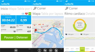 Runtastic PRO también está gratis en Windows Phone, por tiempo limitado