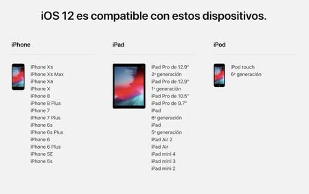 Ios 12 Compatibles