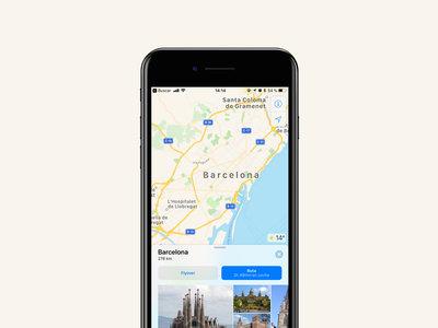 Las indicaciones de transporte público de Apple Maps llegarán pronto a Barcelona, ya tenemos los primeros indicios