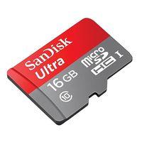 Por 6,85 euros, esta mañana, en Mediamarkt, tienes 16 GB extra para tu smartphone con la Micro SD SanDisk Ultra
