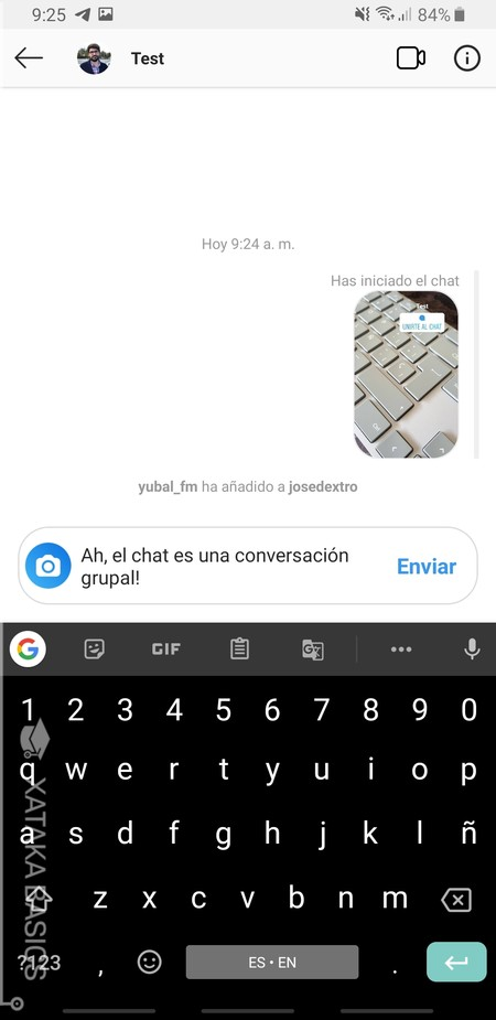 Chat Iniciado