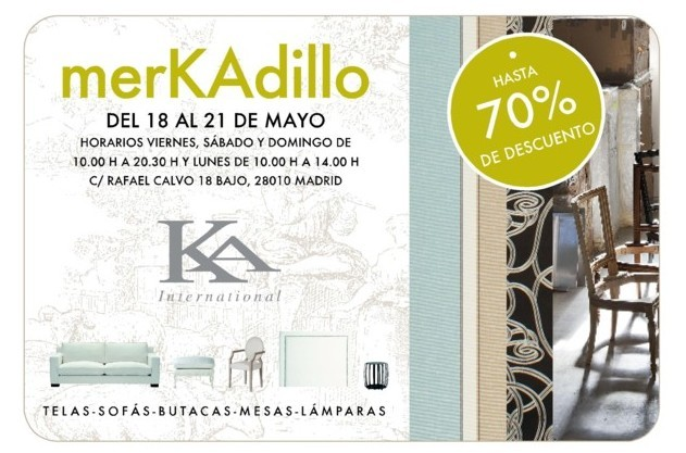 Mercadillo de KA International