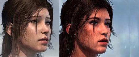 Imagen del nuevo aspecto de Lara en Tomb Raider
